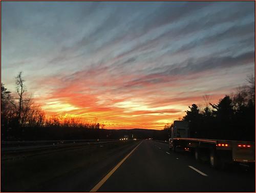 november sunset sky fire twilight seasons heavens fireinthesky twilighttime