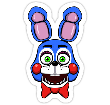Five Nights At Freddys Fnaf Sticker Toy Bonnie Thekaiserin