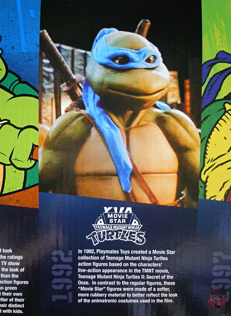 "Nickelodeon ""HISTORY OF TEENAGE MUTANT NINJA TURTLES"" FEATURING LEONARDO -  'MOVIE STAR' LEO i (( 2015 )) by tOkKa"