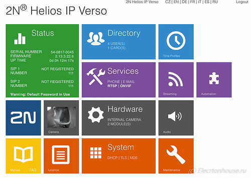 2N Helios IP Verso