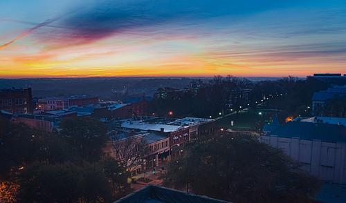 college sunrise ga athens uga daybreak