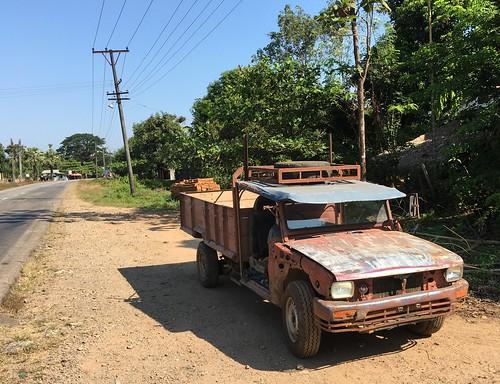 truck trucks car cars myanmar burma bicycle cycling monstate thatondistrict thatontownship thaton pickup