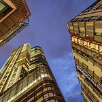 Barangaroo Towers at Twilight