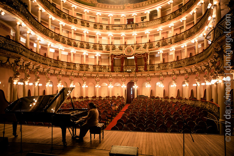 Debora Gurgel no Teatro Amazonas. Manaus, AM, BR