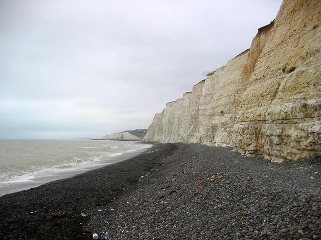 The beach at Saltdean