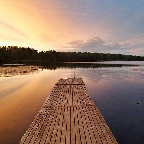 sunset summer reflection suomi finland square pier finnland squareformat scandinavia finlandia フィンランド finlande finlândia finnország finlanda finlàndia финляндия finnlando iphoneography instagramapp uploaded:by=instagram