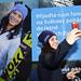 Martina Dubovská s selfie u Pendolina, foto: Petr Havelka