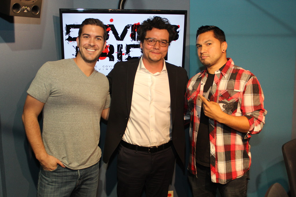 Narcos star Wagner Moura on the Covino & Rich Show   Flickr
