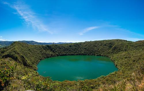 Panorámica Laguna de Guatavita