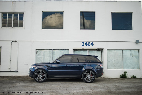 Range Rover Sport on 5D Gunmetal | by Concavo Wheels