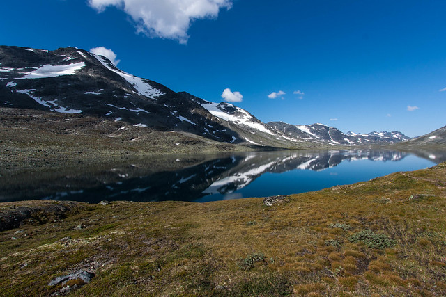 Spejlinger i Langvatnet