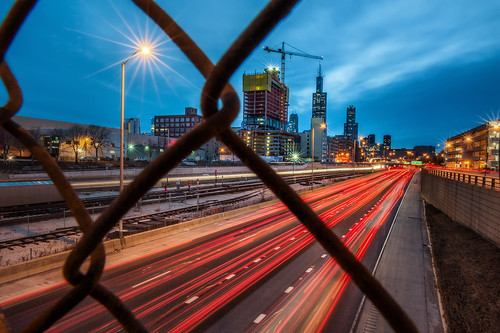 I-290 Through the Fence | by ShutterRunner
