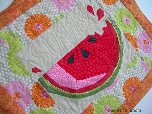 Watermelon Slice Table Topper   Watermelon Slice- pp ...