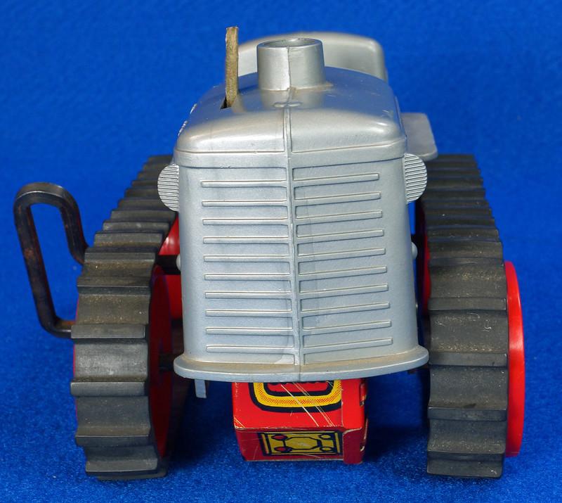 RD9481 Vintage Marx Toy Diesel Tractor Wind Up DSC06243