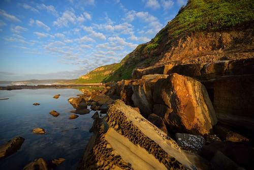 seascape rocks australia newsouthwales aus merewether burwoodbeach nikon1635mmf4 paulhollins nikond750