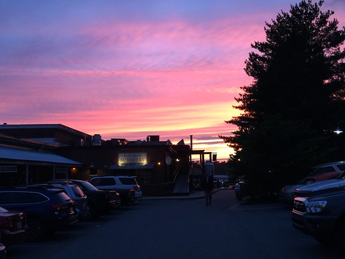 sunset saxpahaw