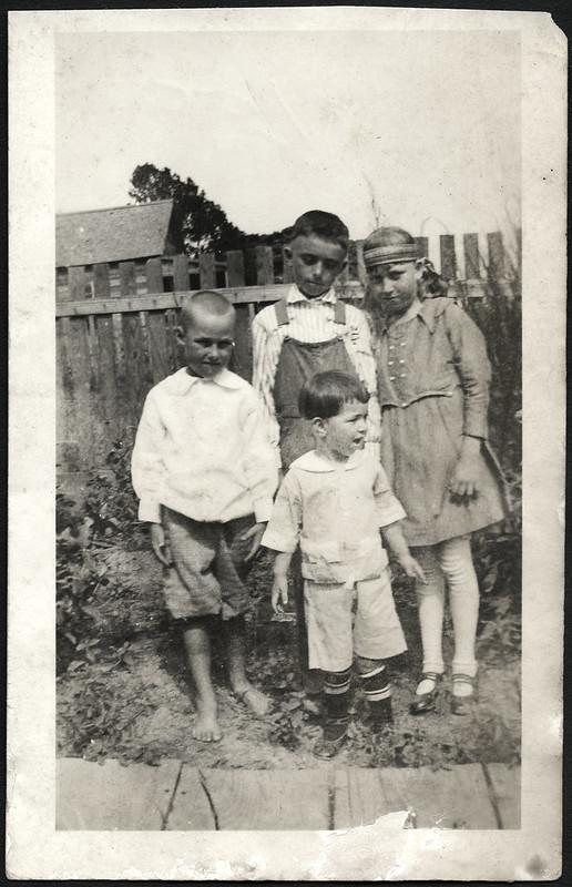 Archiv B295 Nachbarskinder, USA 1920er