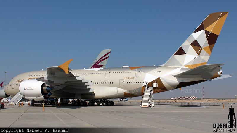 Etihad Airways | Airbus A380-800 | A6-APD | Dubai Airshow 2015 | DWC
