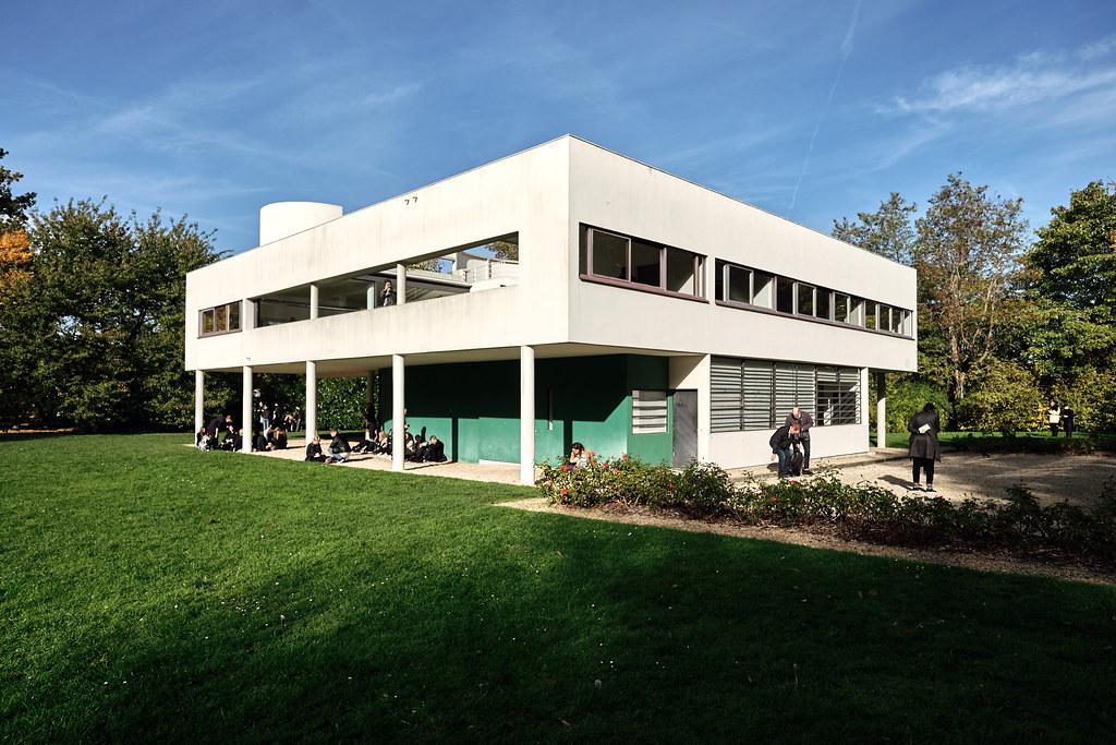 Villa Savoye - Le Corbusier   Studietur Paris 2015   August Fischer   Flickr