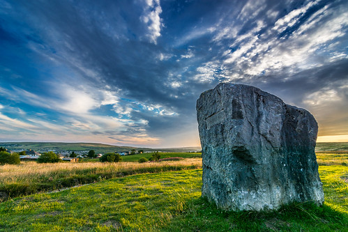 sunset sky wales clouds nikon angle stones wide wideangle tokina tredegar aneurinbevan