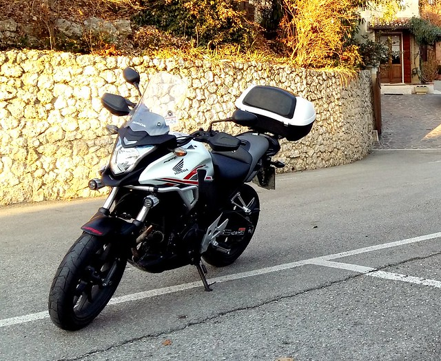 My bike ...... 🚴 (Asolo - Osteria al Bersagliere - 19.12.2015)