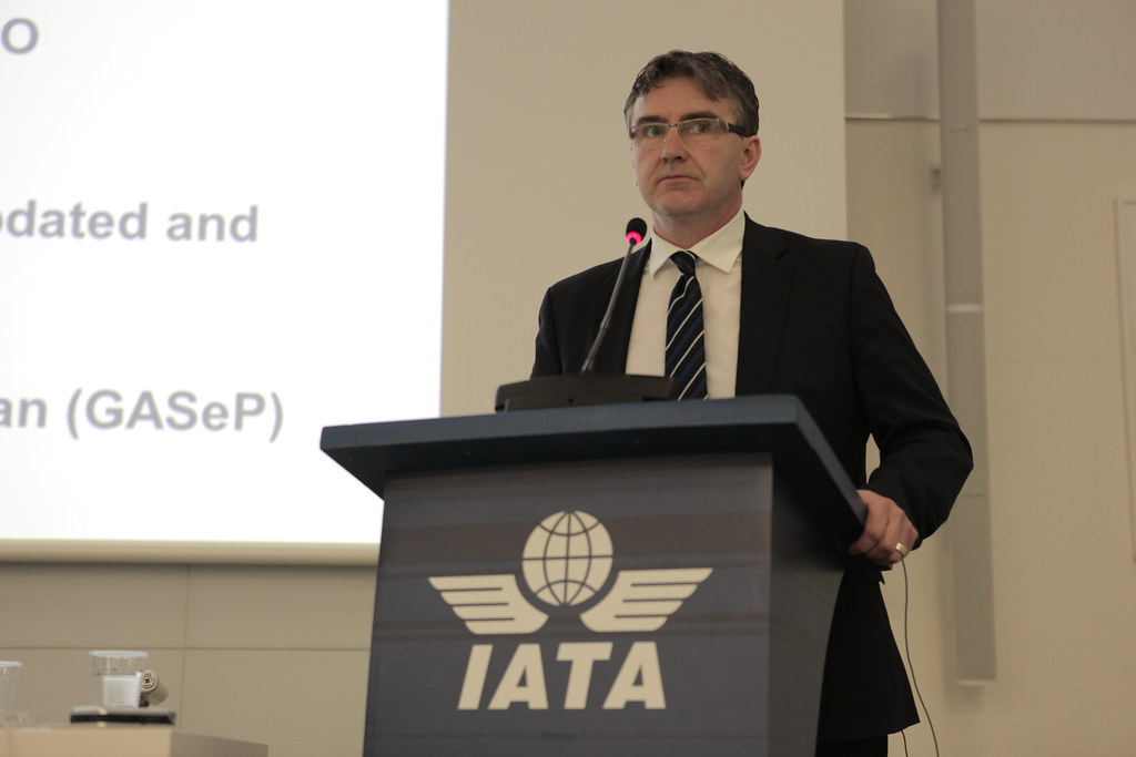 Security Briefing - Nick Careen | IATA's SVP Airport, Passen… | Flickr