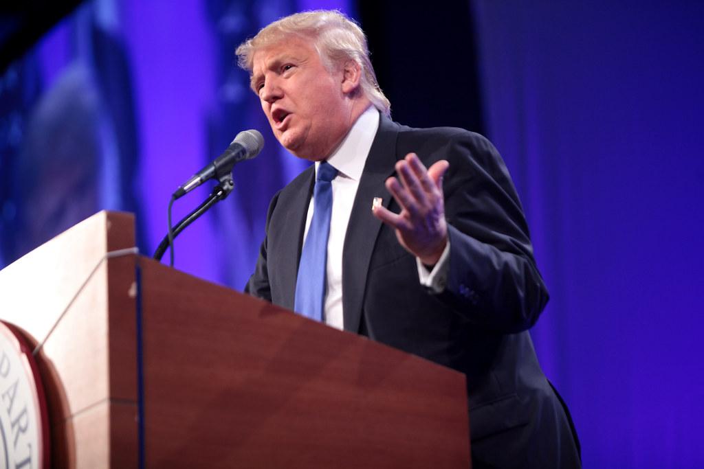 Donald Trump | Donald Trump speaking at the Iowa Republican … | Flickr