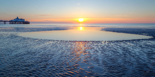 ocean uk sea england sun reflection beach water pool sunrise dawn coast pier sand solitude unitedkingdom eastbourne eastsussex canonef24105mmf4lisusm canoneos6d