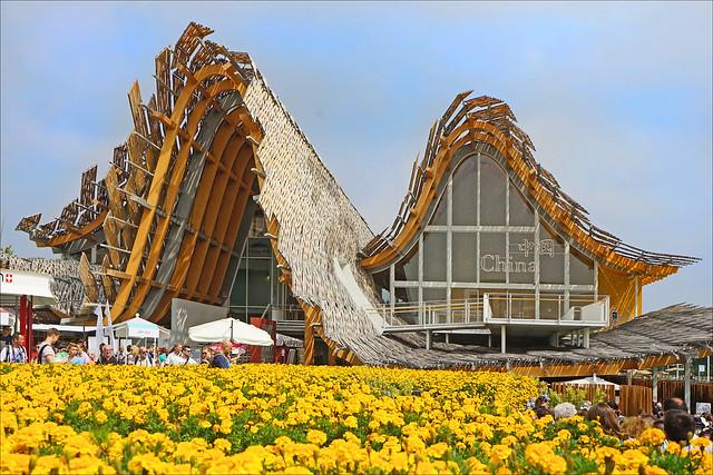 Le pavillon de la Chine (Expo Milan 2015)