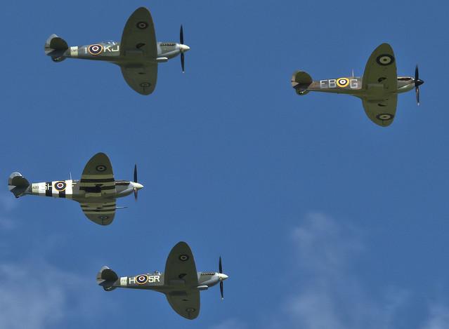 Spitfires Salute