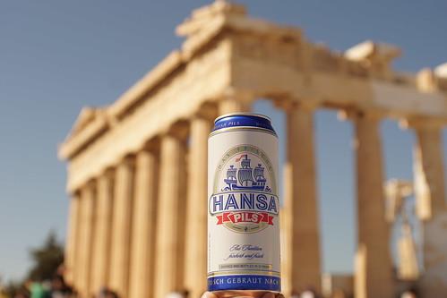 Hansa Pils in Athens | by GelbQwer