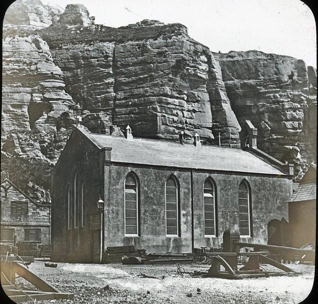 H01476 Hastings fishermen's church (Church of St. Nicholas) c.1905