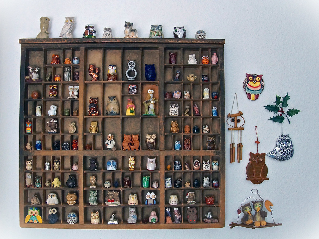 Eulensammlung - Owls collection