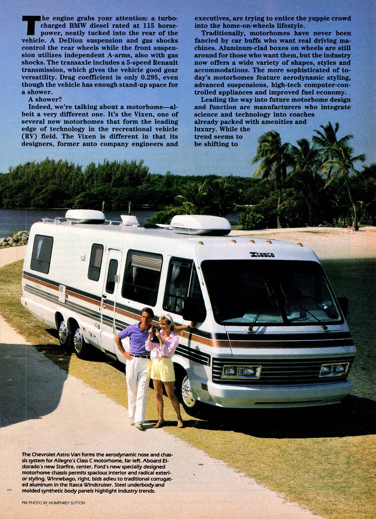 1987 Winnebago Itasca Windcruiser Motorhome | Alden Jewell