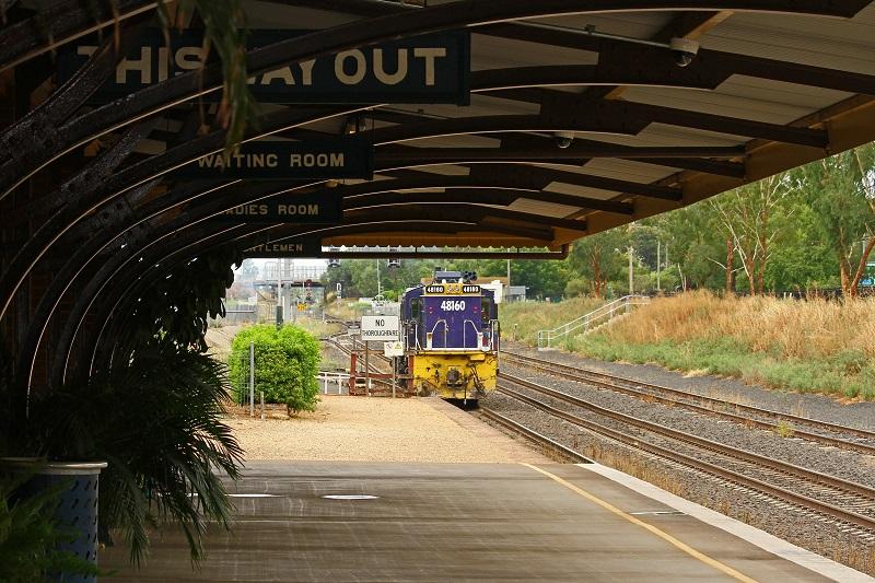 Gunnedah Station by David Arnold