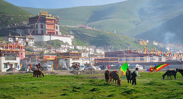 Sershul monastery, Tibet 2014