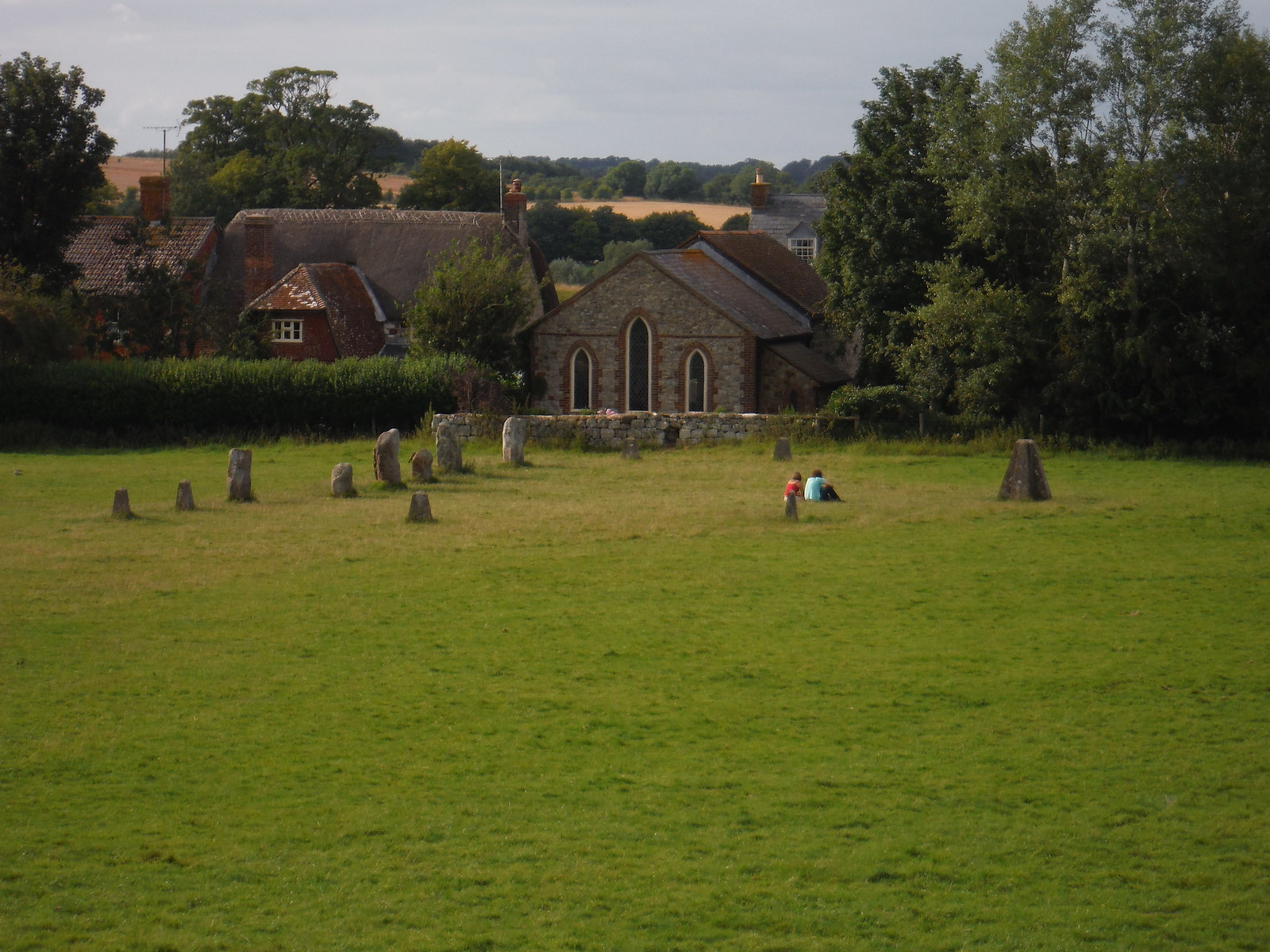 Avebury, Small Inner Stone Circle SWC Walk 255 Pewsey or Marlborough Circular via Avebury