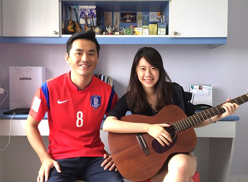Guitar lessons Singapore Melody