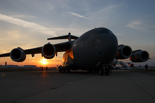 california sunset aircraft military airshow c17 sanbernardino 2015 globemasteriii missionbelle sanbernardinointernationalairport sbdfest spiritofriverside