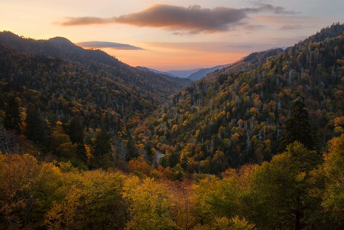 autumn sunset mountains fall outdoors tennessee scenic northcarolina blueridgemountains blueridge greatsmokymountains newfoundgaproad appalachians newfoundgap greatsmokies westernnorthcarolina landscapephotography mortonoverlook greatsmokymountainsnationalparkphotography