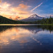 Trillium Sunset by RobertCross1 (off and on)