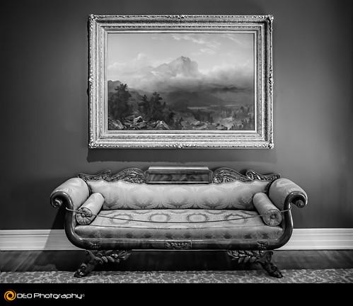 blackandwhite bw art chattanooga monochrome landscape lumix mono interior panasonic sofa huntermuseum fz200