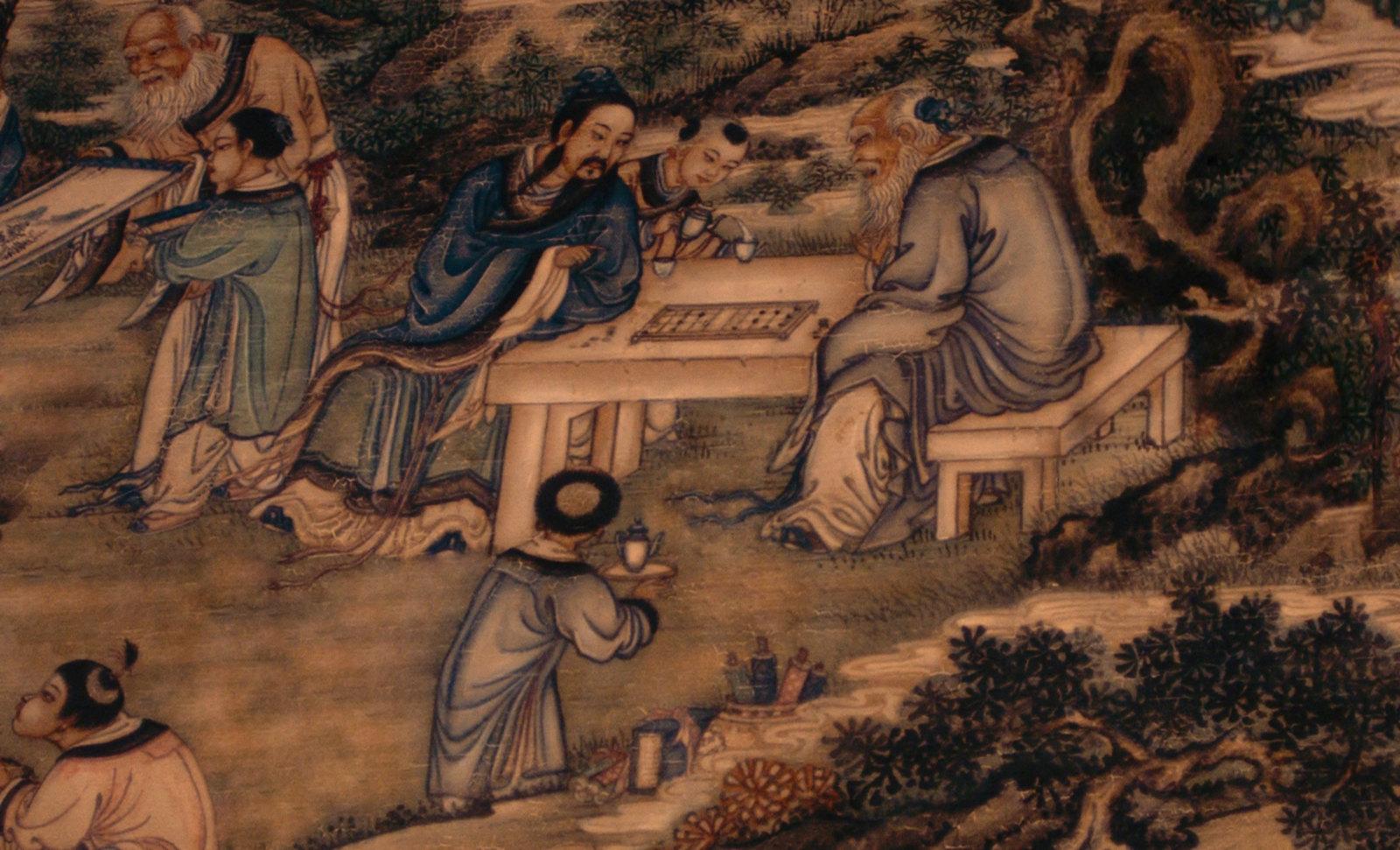 Xiangqi - Representación de ámbitos Tao