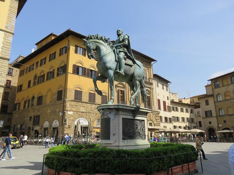 Statue of Cosimo I De Medici, Florence.