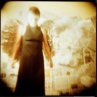masked angel | by Laura Burlton - www.lauraburlton.com