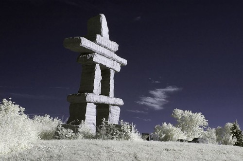 Toronto Inukshuk - Colour IR | by miwo76