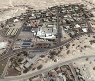 Awali Club via Google Earth