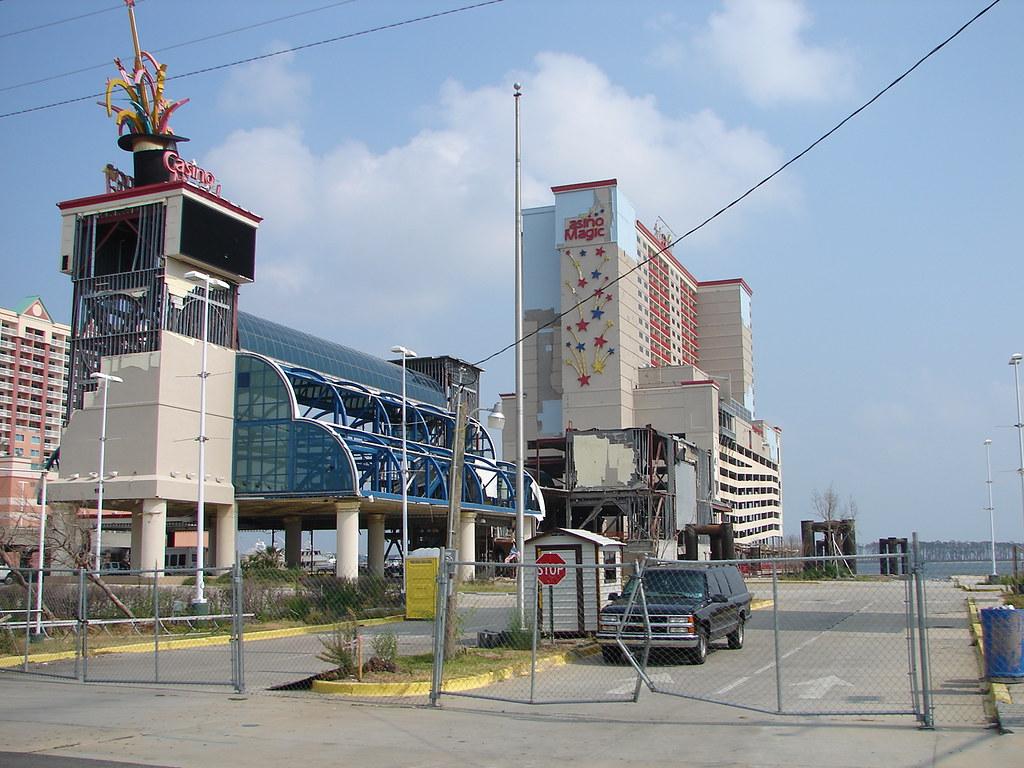 Biloxi Ms Casino Magic Damaged By Hurricane Katrina Flickr