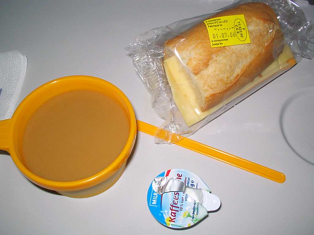 Lufthansa Breakfast (Before)