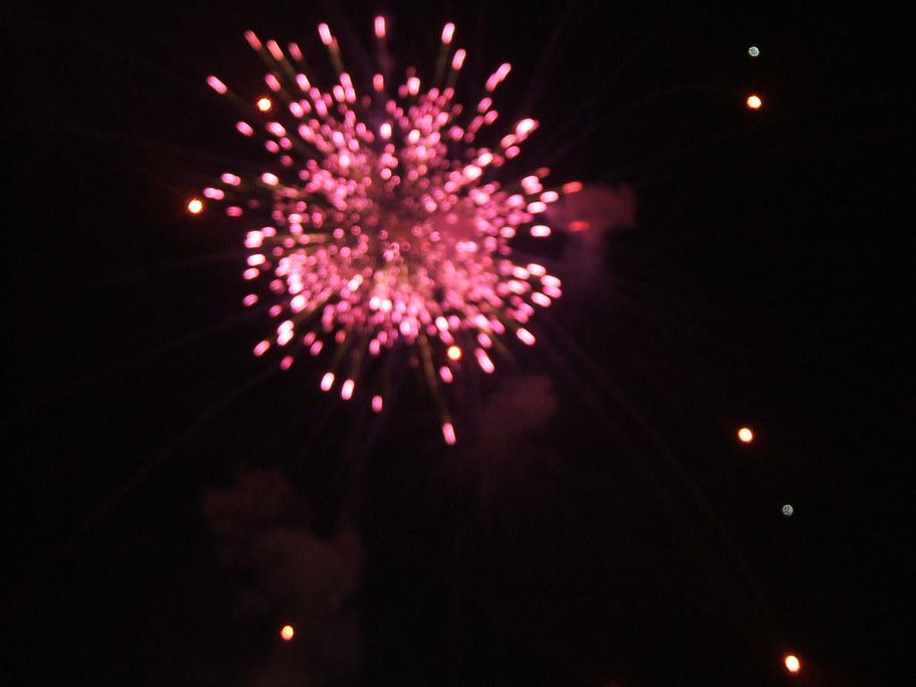 pink firework   takinaday   Flickr